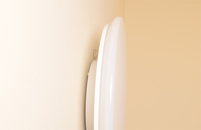 We recommend hanging a Sunn light on the wall similar to a framed photo or painting.