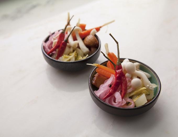Side of Pickled Vegetables