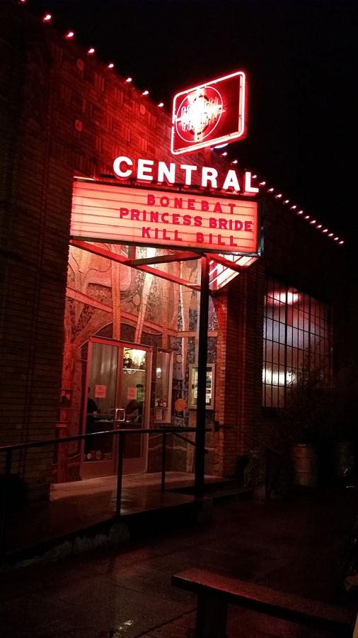Central Cinema on BoneBat Night!