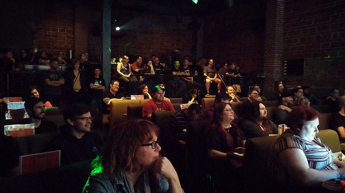 Our fabulous audience at BBFF14!