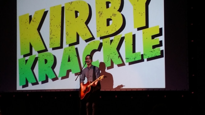 Kyle Stevens of Kirby Krackle rockin' the house at BBFF14!