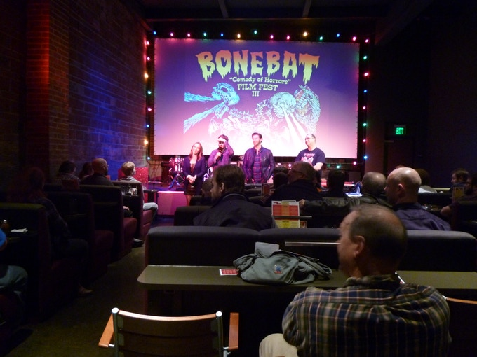 """Buck Wild Q&A at the 2013 """"Comedy of Horrors"""" Film Fest."""