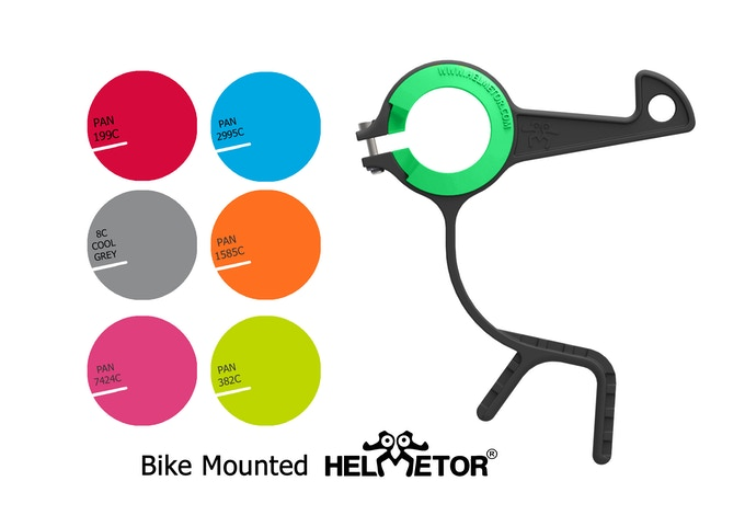 Bike-mounted Helmetor®