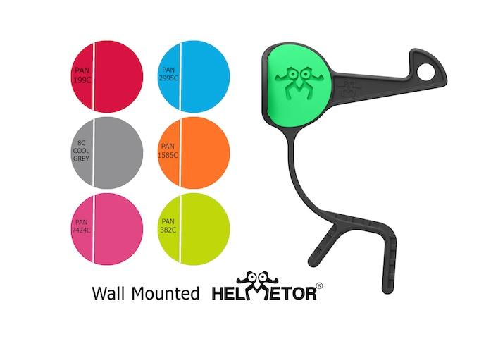 Wall-mounted Helmetor®