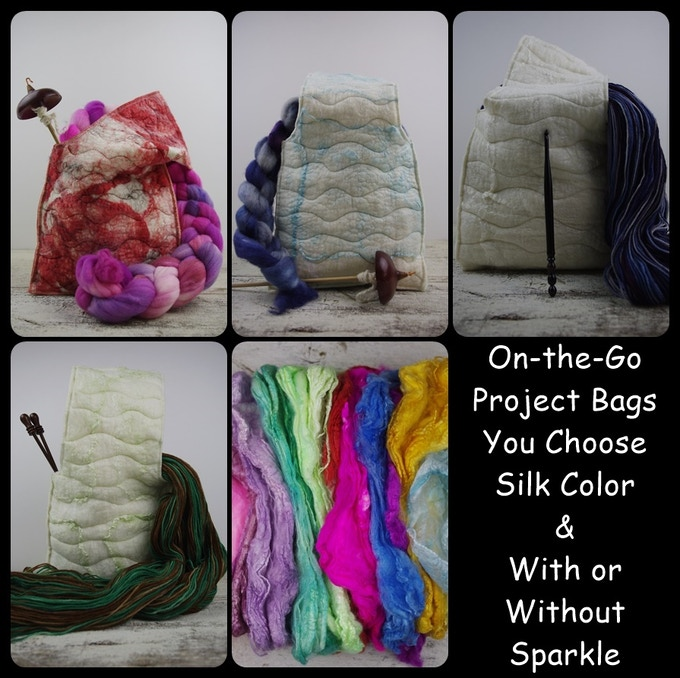 On-the-Go project bags!