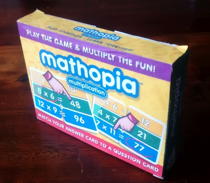 Mathopia Box Front