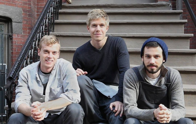 (From left to right) Co-founders Aidan, Matt and Ben