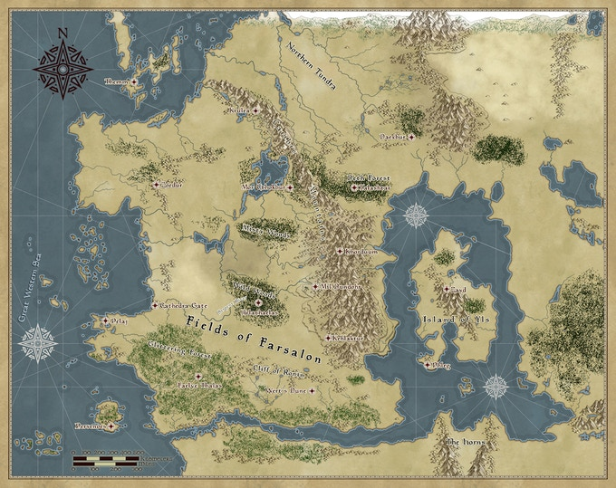 The map of Calibran