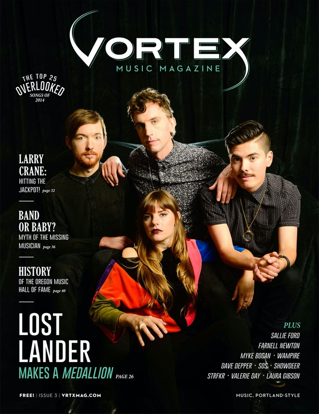 Portland's Vortex Music Magazine to Publish Issue #1 by Vortex Music