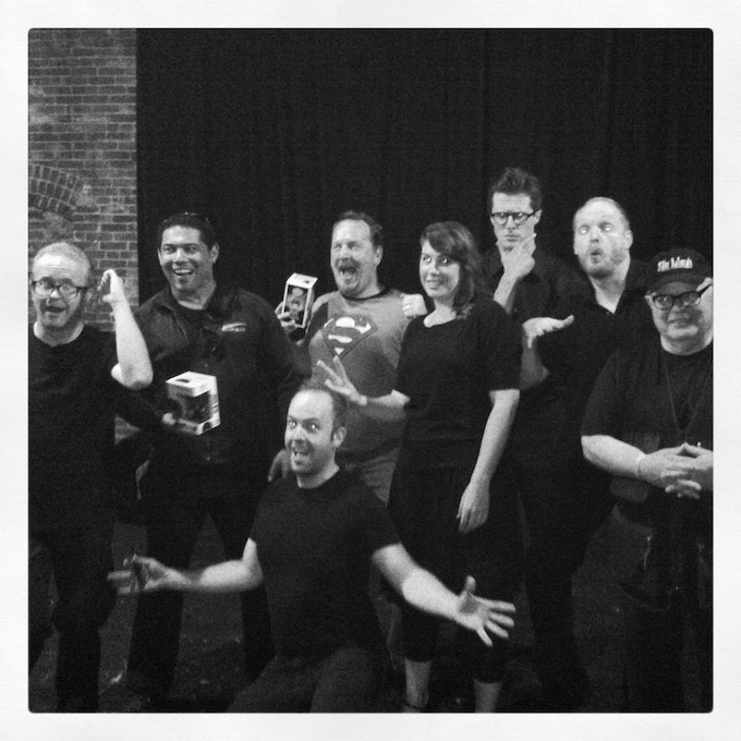 Cast of the 'Ministers of Grace' staged reading ~ June 2014