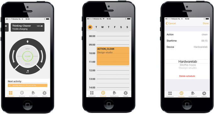 From Dashboard to Schedule to Detail