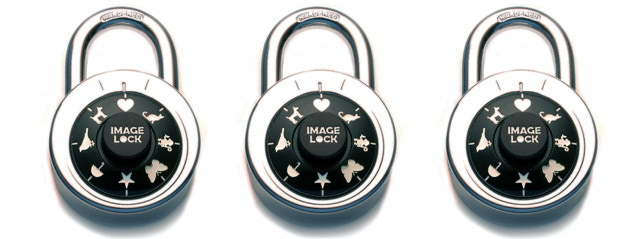 Three (3) IMAGE-LOCKS $25