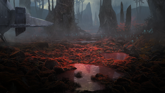"""""""Tiama Forests"""", by Richard Wright"""