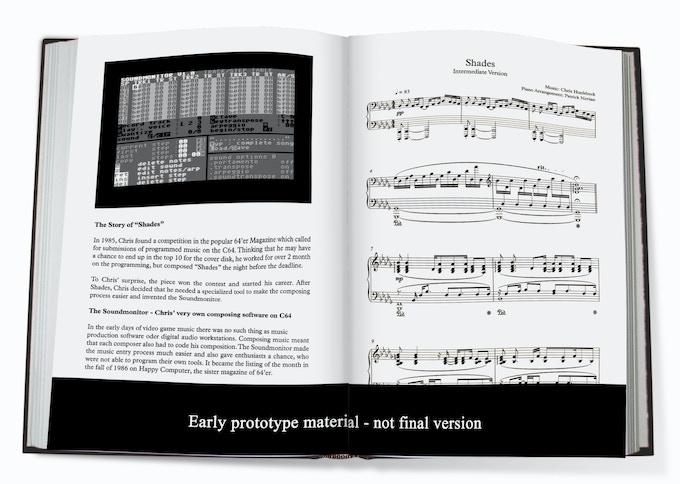 Score Book inside mockup