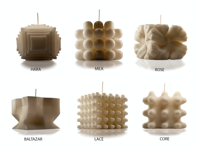 AU COLLECTION -   Designed Candles