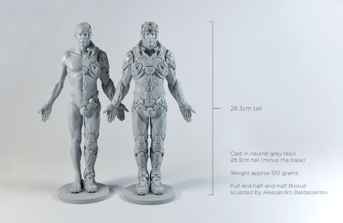 Resin prototypes