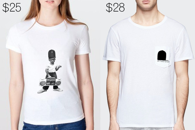 Old School T-Shirt and Pocket Logo T-Shirt