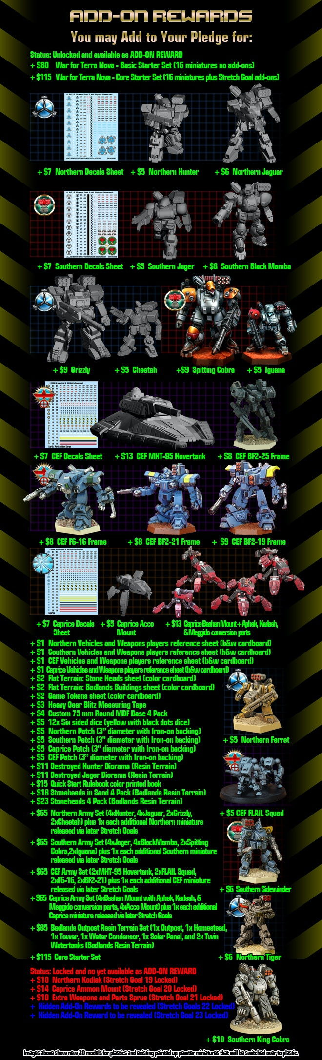 Revised Add-on Rewards Graphic with Stretch Goal 18 Unlocked