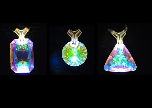 We have a selection of 3 gem shapes to choose from.