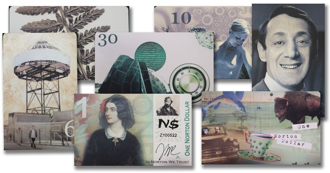 Great original currency from Richard Petersen