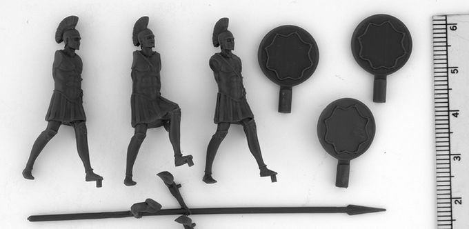 Hoplites 3D print