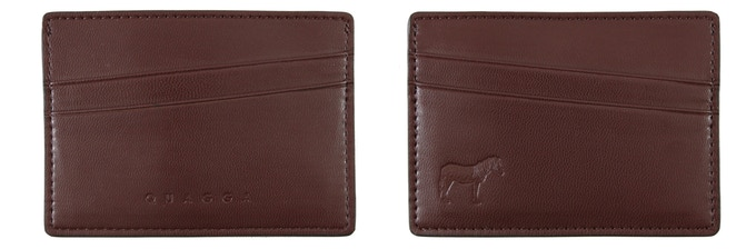 Quagga Single Cardholder (Brown, 98 mm x 69 mm, Early Bird CAD$19 / Regular CAD$29) : Holds up to 8 cards + cash