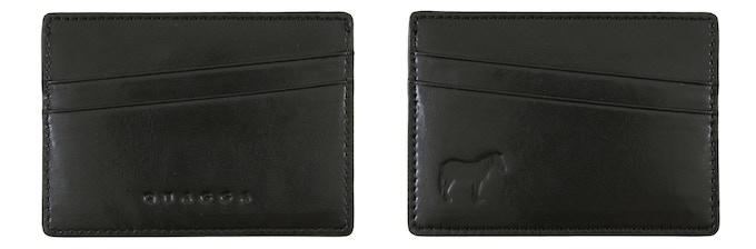 Quagga Single Cardholder (Black, 98 mm x 69 mm, Early Bird CAD$19 / Regular CAD$29) : Holds up to 8 cards + cash