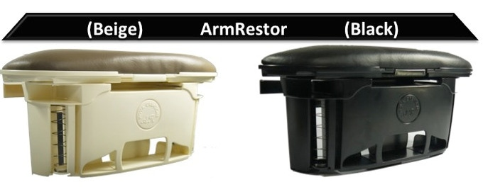 ArmRestor uses synthetic leather for the Pad ArmRestor uses synthetic leather for the Pad