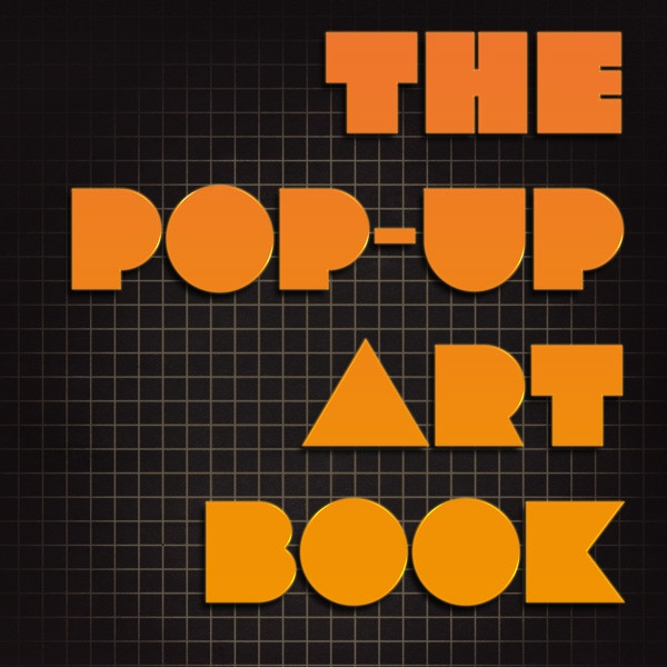 Mockup Cover Art for The Pop Up Art Book
