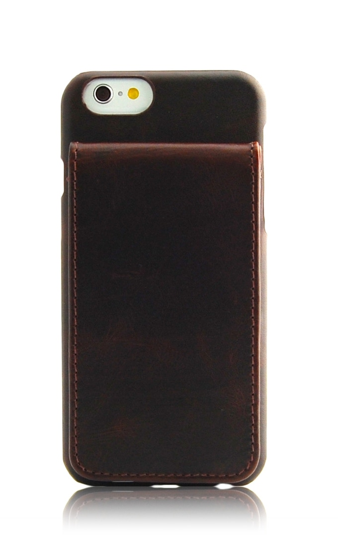 ComboCases iPhone 6 leather wallet case brown color