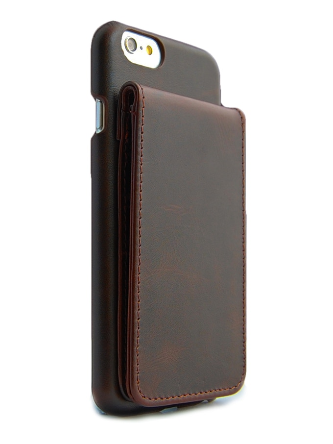 ComboCases iPhone 6 leather wallet case brown color 2