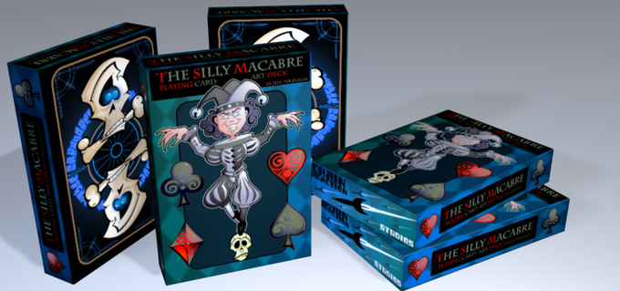 """Example render of the """"Tuck"""" box art"""