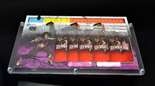 Organizer compatible with Zombicide