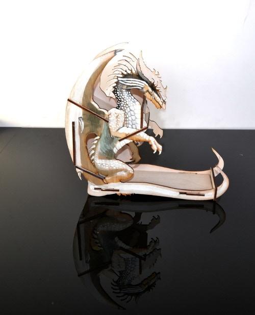 Dice Tower - White Dragon