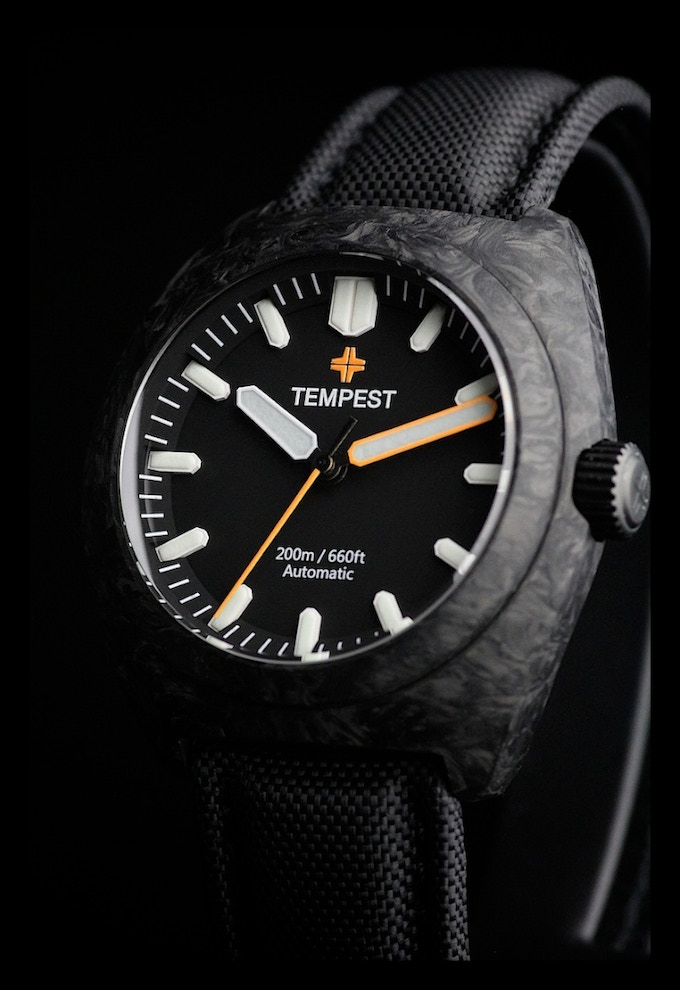 Tempest Watches The First Affordable Forged Carbon