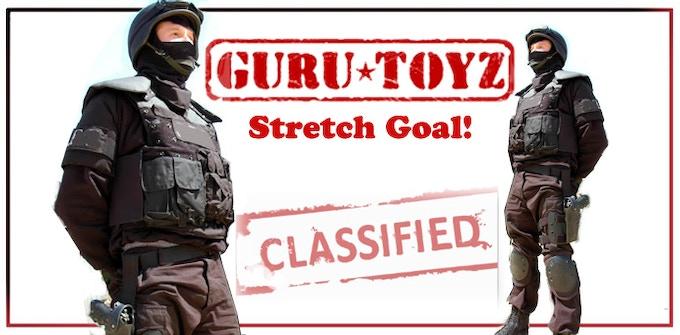 Guru Toyz Sub5 Elite Trooper Action Figure Concept.