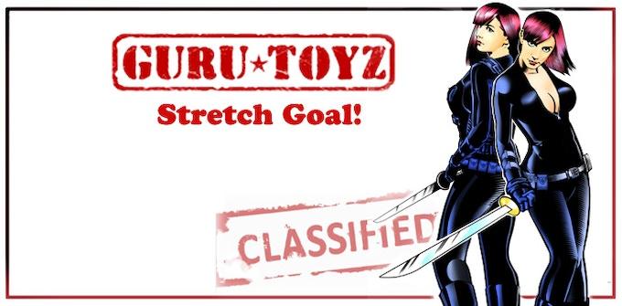 Guru Toyz Twins: Todu & Sofu Action Figures Concept.