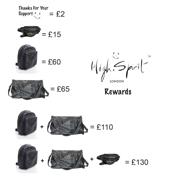 High Spirit Bag: Award Winning Stylish Theft-Proof