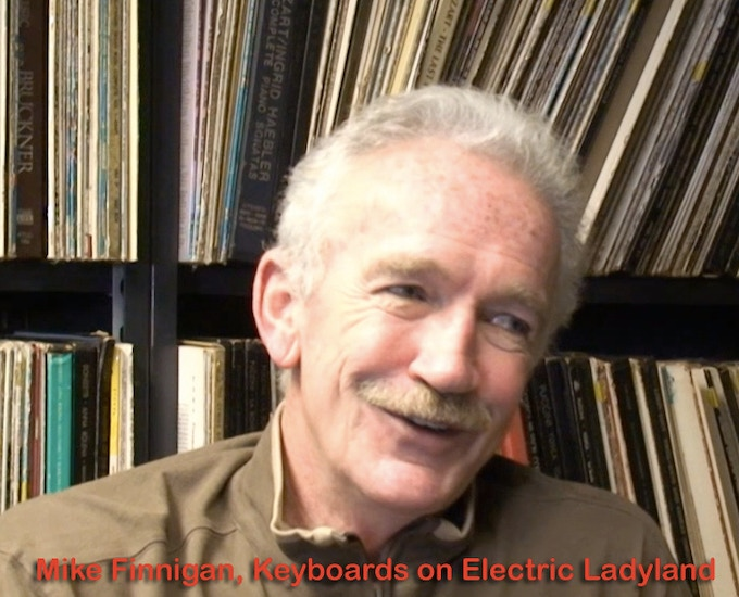 Mike Finnigan, who played on Electric Ladyland, is interviewed in the book.