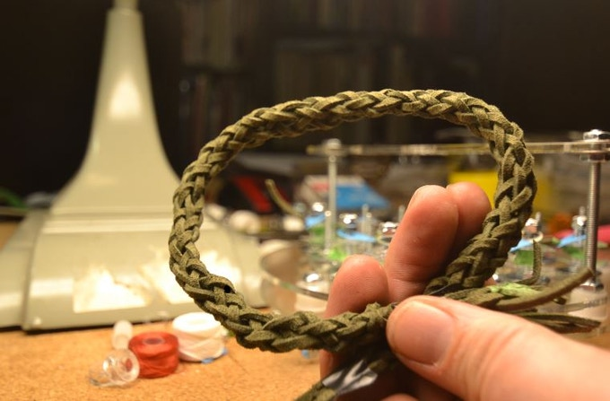 Rope O'Matic Braided Leather