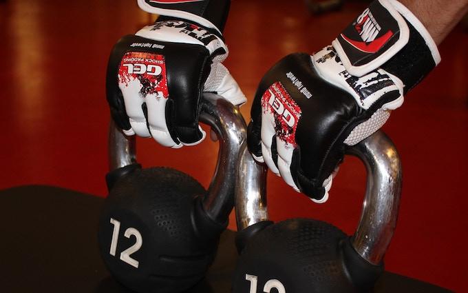 Intelligent Fightwear - Smart Sensor Gloves by MM8 SPORTS