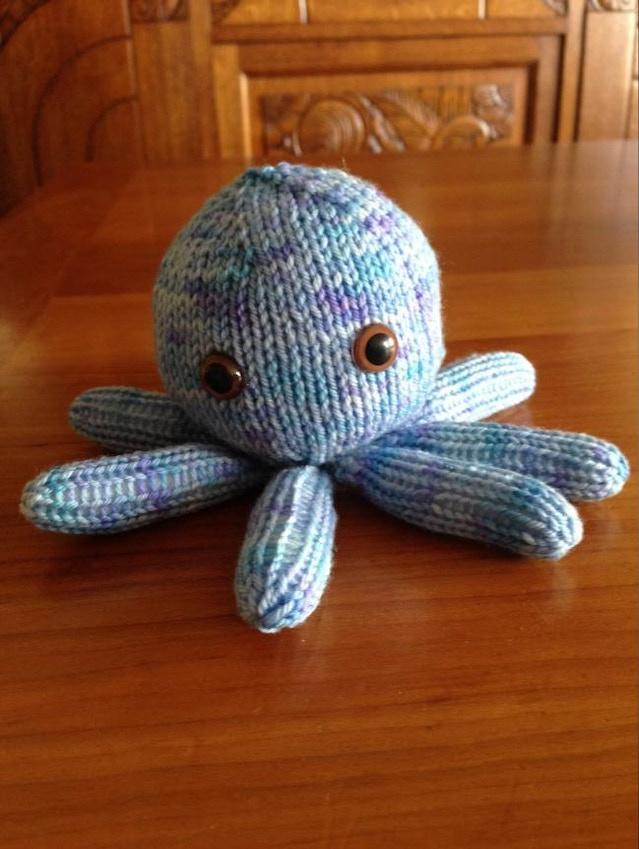Sarah Lamb\'s Knitted Octopus Babies by Sarah Lamb — Kickstarter