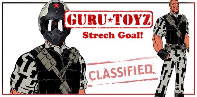 Guru Toyz Modern Russian Trooper Action Figure Concept.