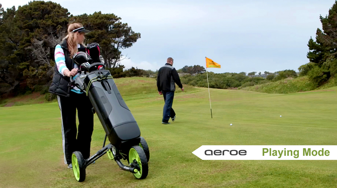 Aeroe GolfPod on the course!