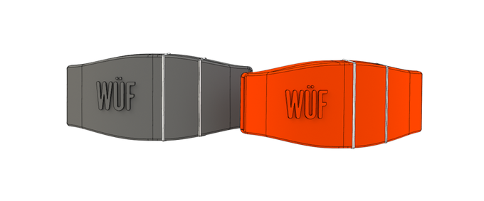 Renderings of WÜF's Two Main Colors