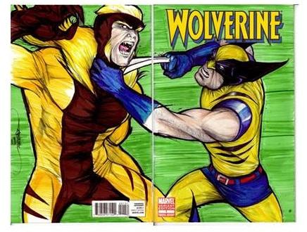 Wolverine sketch cover by Brian Lopez-Santos. This is a $70 reward.