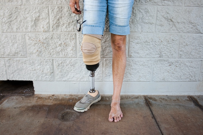 """""""I don't beg, I don't steal. I get $650 a month from social security and I am disabled because of a bone infection I had when I was younger. I would pay $450 a month to have a roof over my head, but where am I going to find that?"""" - Roxanne"""