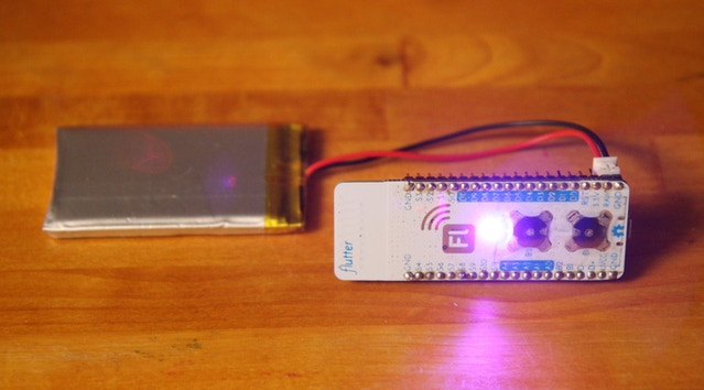 Flutter: $20 Wireless Arduino with half mile (1km) range  by Flutter