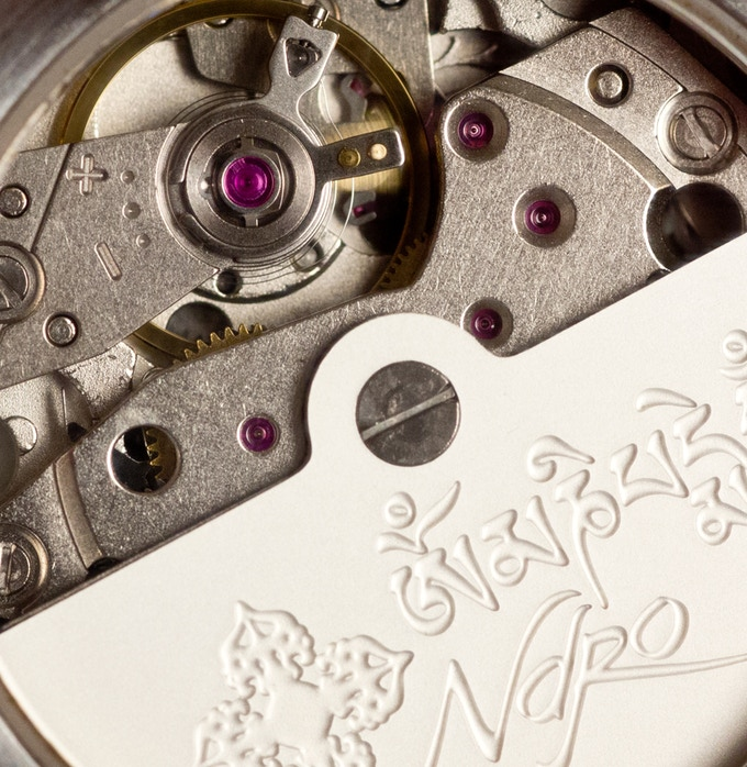 24 Jewel automatic movement.