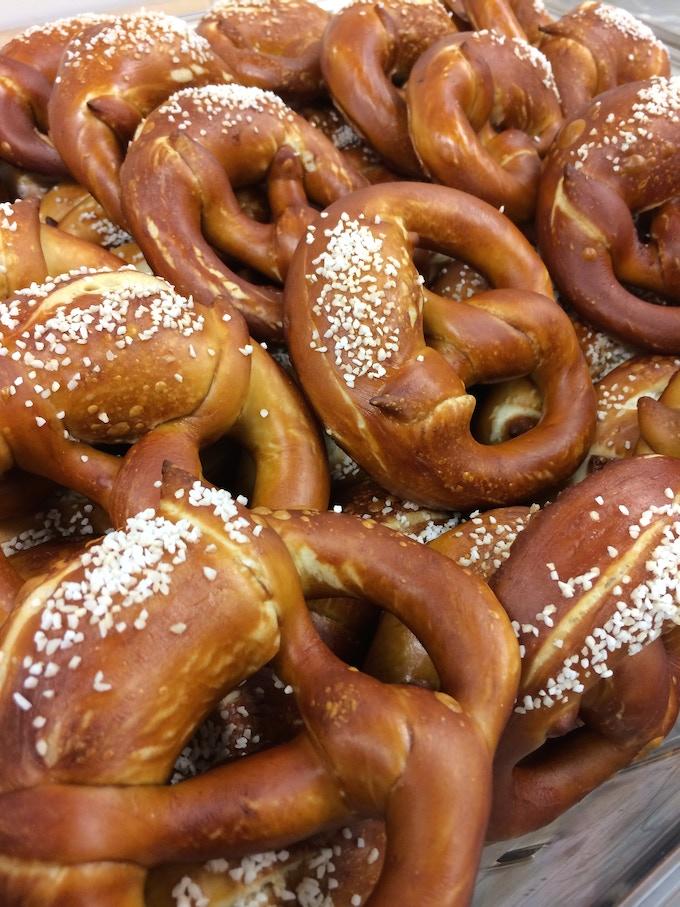 Duck Island Bavarian Style Pretzel